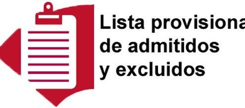 Oposiciones Auxilio Judicial listas provisionales de admitidos y excluidos