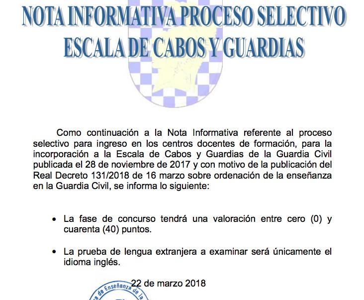 nota-informativa-oposiciones-guardia-civil-2018-academia-oposiciones-santander-3catorce-cantabria Publicada nota informativa oposiciones guardia civil 2018