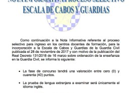nota-informativa-oposiciones-guardia-civil-2018-academia-oposiciones-santander-3catorce-cantabria Curso Intensivo oposiciones guardia civil Santander Cantabria