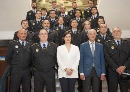 Santander-incorpora-19-nuevos-agentes-tras-oposiciones-policia-Local Preparadores Policia Local santander