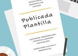 Publicada-Plantilla-Oposiciones-Operario-de-Montes-Cantabria Tecnico Superior Educacion Infantil Cantabria
