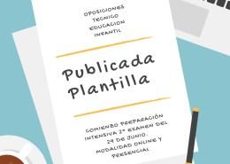 Publicada-Plantilla-Oposiciones-Tecnico-Educacion-Infantil-Cantabria Curso Operario Carreteras Cantabria