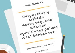 Respuestas-y-Listado-aptos-segundo-Examen-oposiciones-policia-local-Santander Oposición Policia Local Santander