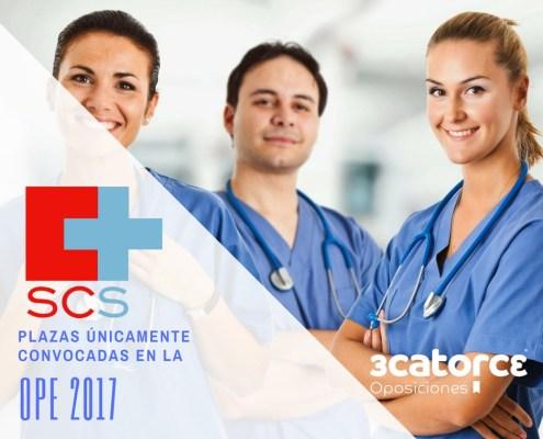 Convocatoria Oposiciones SCS OPE 2017