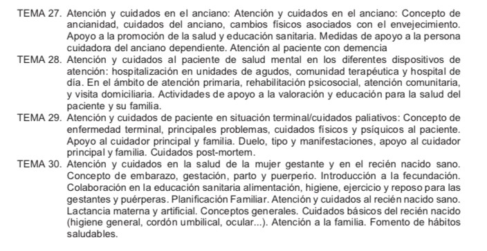 Temario-Auxiliar-Enfermeria-Servicio-Cantabro-de-Salud-4 Actualidad Curso Auxiliar Enfermeria Servicio Cantabro de Salud