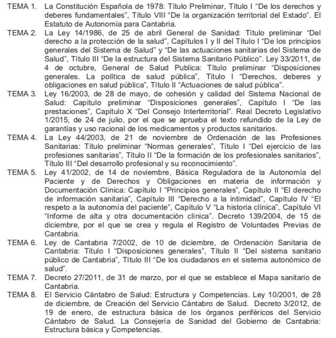 Temario-FEA-Servicio-Cantabro-de-Salud-1 Curso FEA Medicos Servicio Cantabro de Salud
