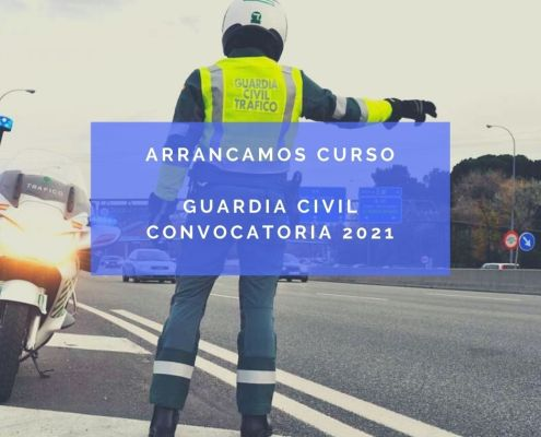 curso oposiciones guardia civil 2021