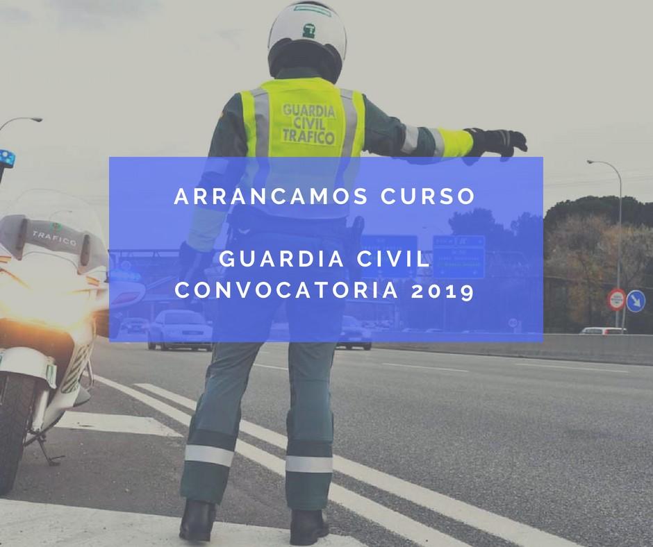 curso-oposicion-guardia-civil-2019 Acabadas las pruebas de las oposiciones Guardia Civil 2018