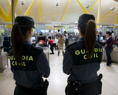 mujeres oposiciones guardia civil