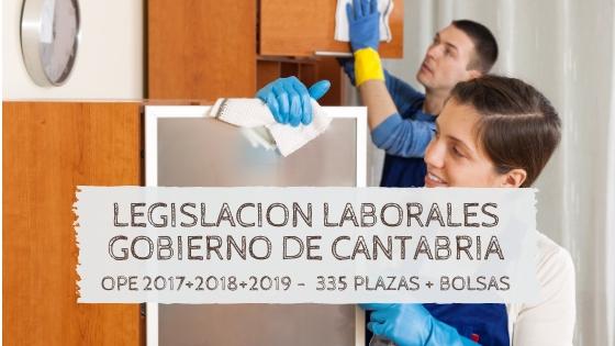 5-1 Plazas OPEs 2017 2018 2019 Cantabria Oposiciones 2020