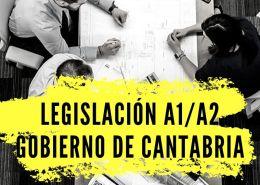 LEGISLACION-A1-A2-GOBIERNO-DE-CANTABRIA Oposiciones Cantabria