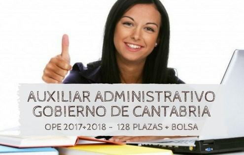 Oposiciones auxiliar administrativo cantabria 2019