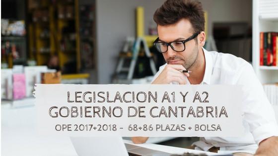 legislacion-Oposiciones-funcionario-cantabria-2019 Curso Legislativo Oposiciones Funcionarios Cantabria 2019 2020