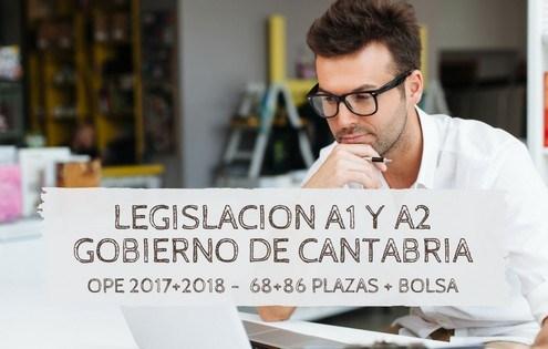 legislacion Oposiciones funcionario cantabria 2019