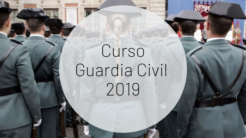Curso-Guardia-Civil-2019-1 Jura de bandera de la 124 promocion Guardia Civil 2018