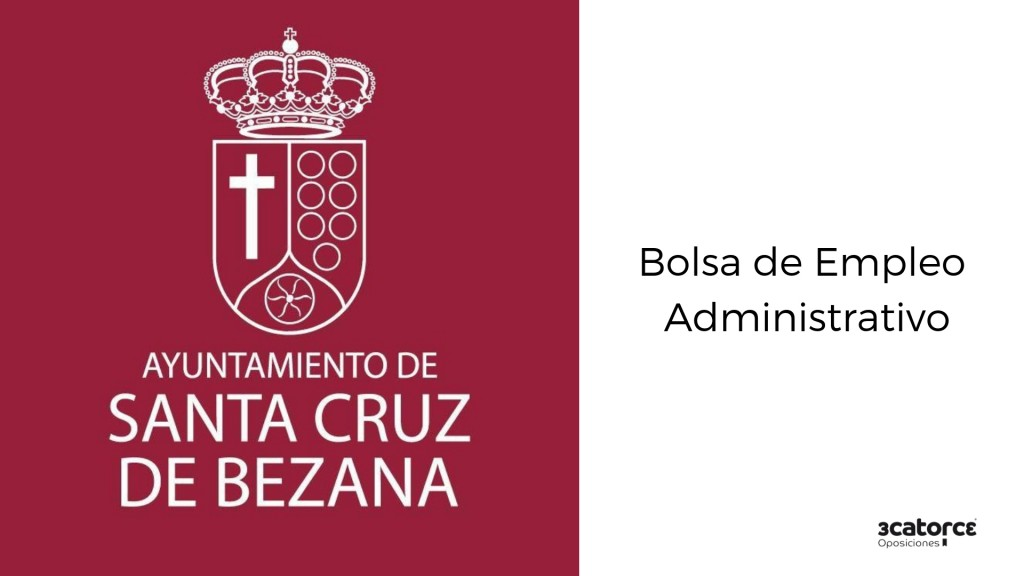 Bolsa Santa Empleo Cruz Administrativo De Bases BezanaPublicadas T1FJKcl3