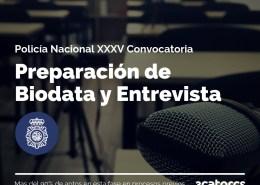 Biodata-entrevista-policia-nacional Información Convocatoria Policia Nacional