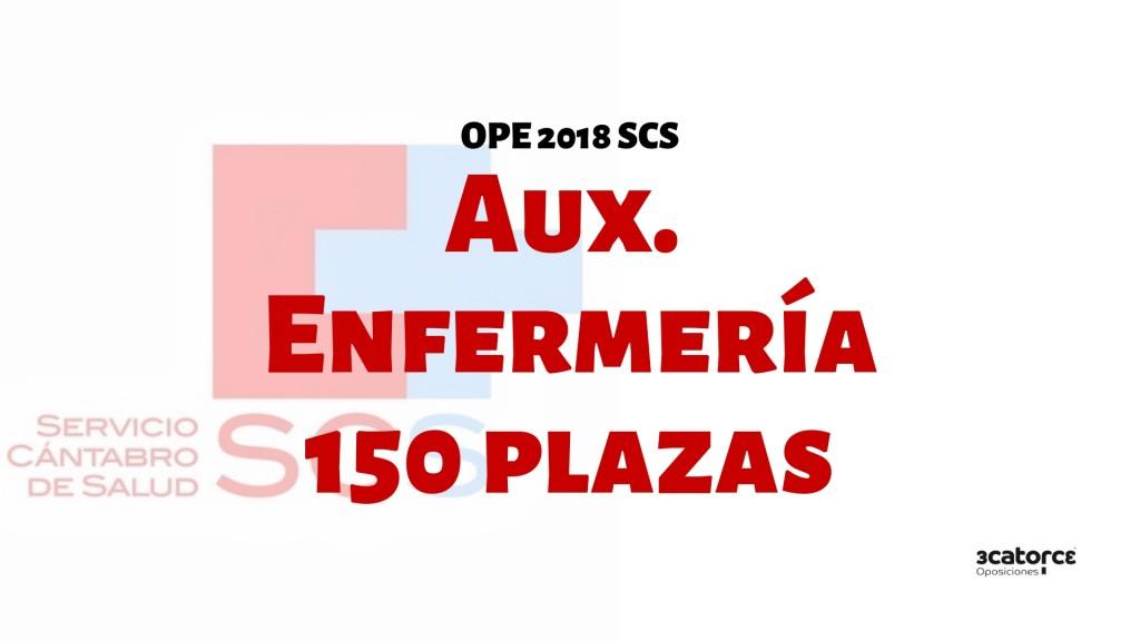 Confirmadas-150-plazas-oposiciones-auxiliar-enfermeria-SCS-2019-1 Confirmadas 150 plazas oposiciones auxiliar enfermeria SCS 2019
