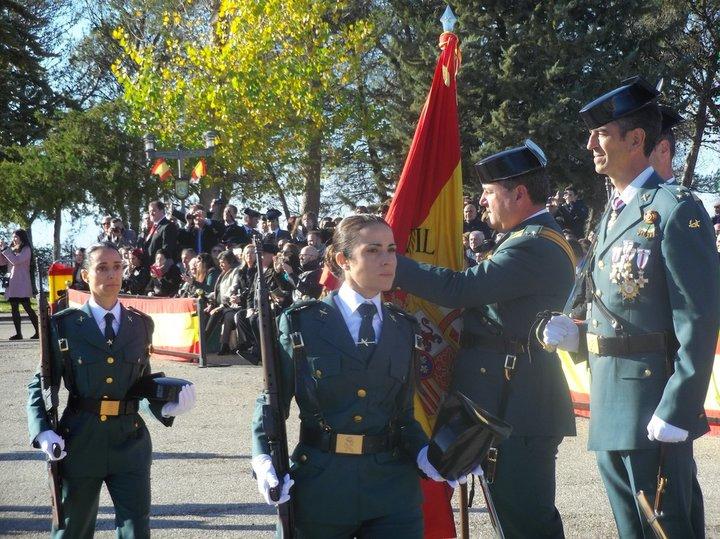Jura-de-bandera-de-la-124-promocion-Guardia-Civil-2018 Jura de bandera de la 124 promocion Guardia Civil 2018