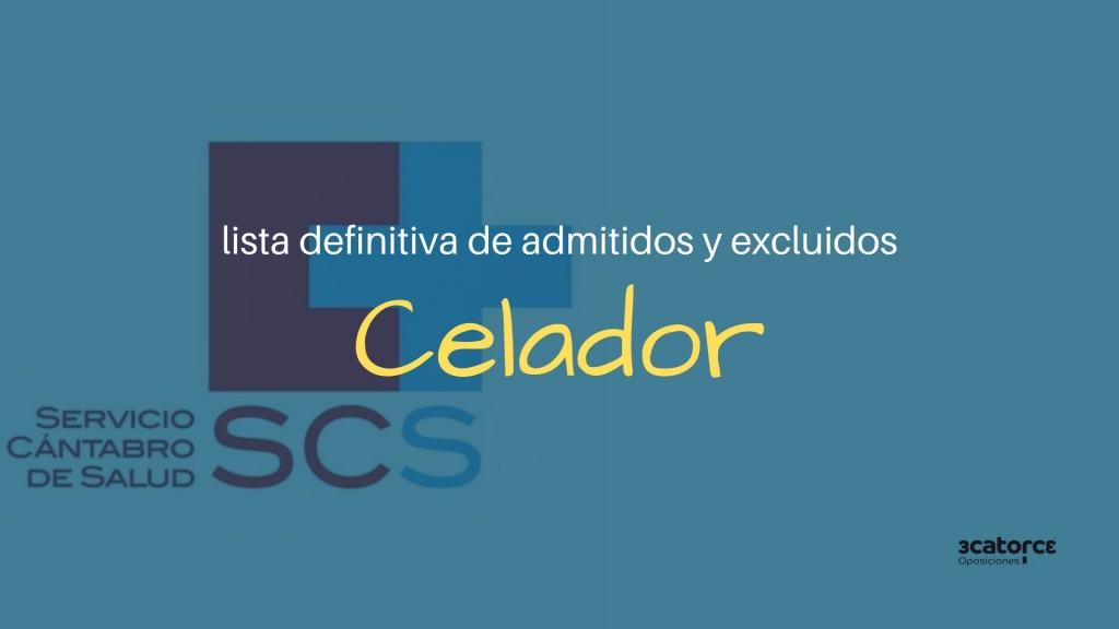 Lista-definitiva-admitidos-oposiciones-Celador-SCS Lista definitiva admitidos oposiciones Celador SCS