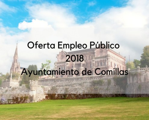 Oferta Empleo Publico 2018 Comillas