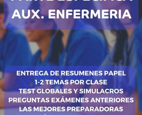Repaso oposiciones auxiliar enfermeria Cantabria SCS Santander y Torrelavega