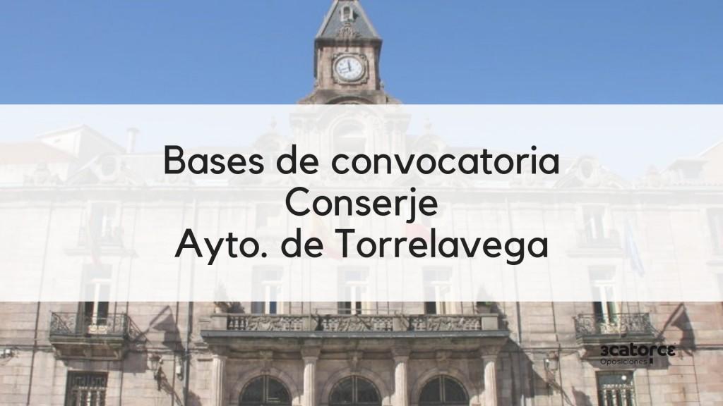 3-plazas-Conserje-oposiciones-2019-Torrelavega-Cantabria 3 plazas Conserje oposiciones 2019 Torrelavega Cantabria