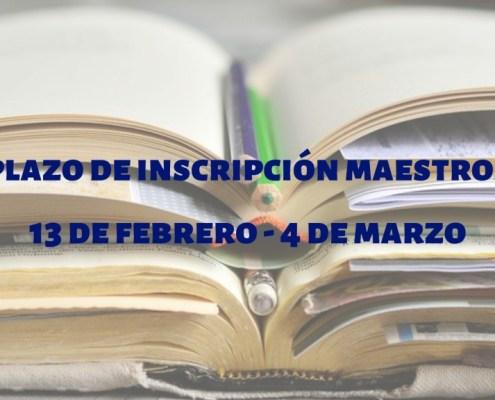 Abierto plazo inscripcion oposiciones maestros 2019 Cantabria