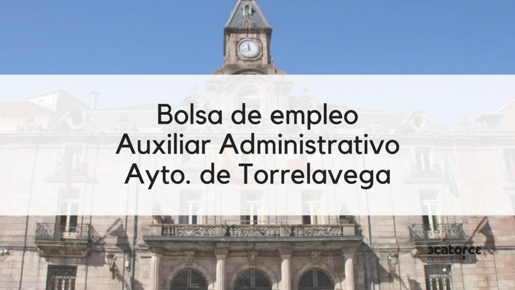 Bases-bolsa-Auxiliar-Administrativo-Torrelavega-2019 Bases bolsa Auxiliar Administrativo Torrelavega 2019