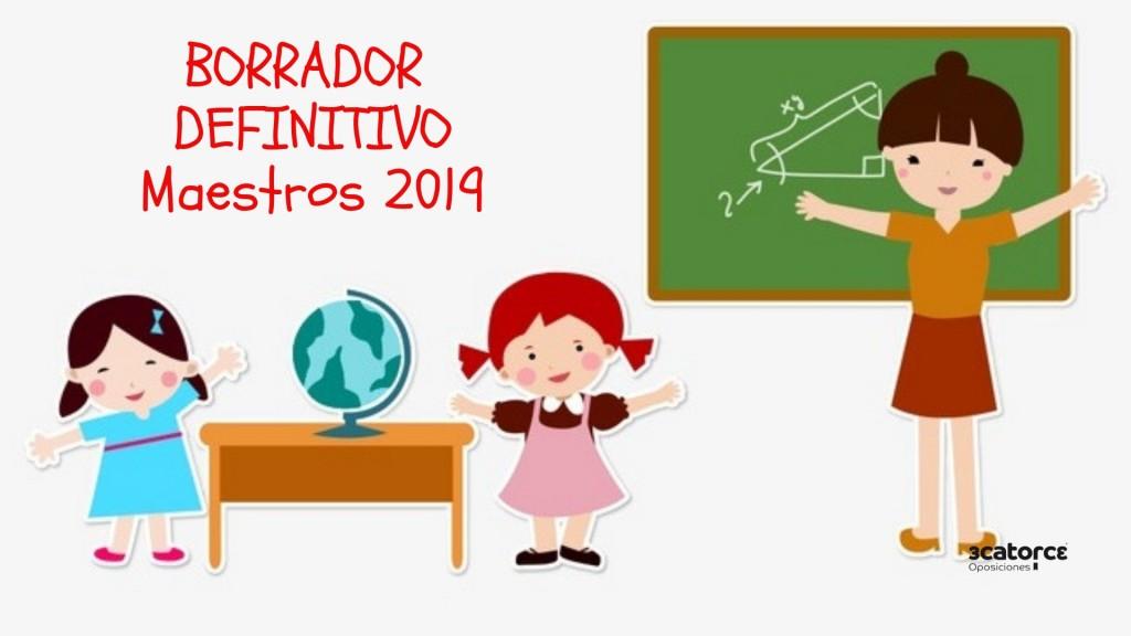 Borrador-definitivo-Bases-Convocatoria-oposiciones-maestros-Cantabria-2019 Borrador definitivo Bases Convocatoria oposiciones maestros Cantabria 2019