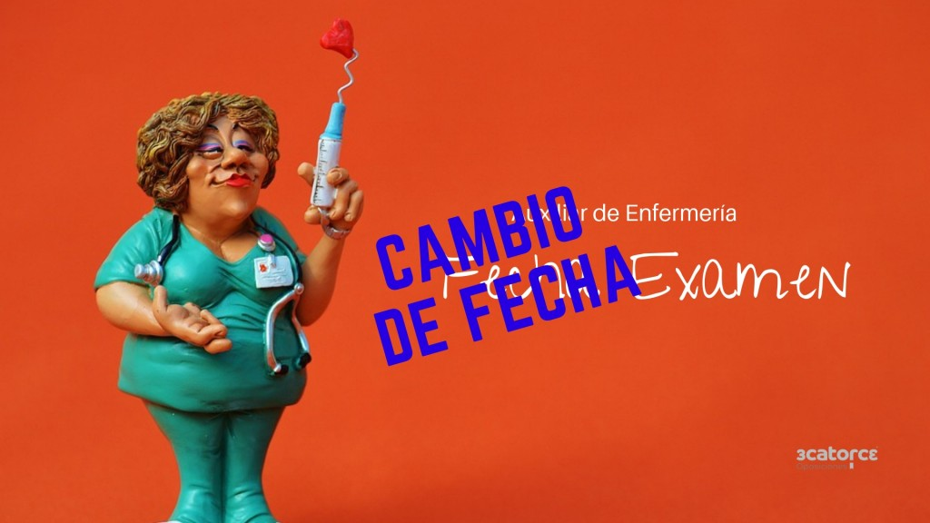 Cambio-Fecha-examen-oposicion-Auxiliar-Enfermeria-SCS Fecha definitiva examen oposicion Auxiliar Enfermeria SCS Cantabria