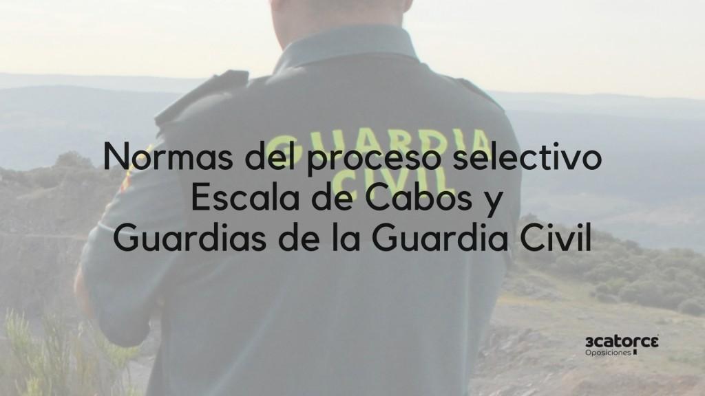 Normas-oposicion-Guardia-Civil-2019 Normas oposicion Guardia Civil 2019