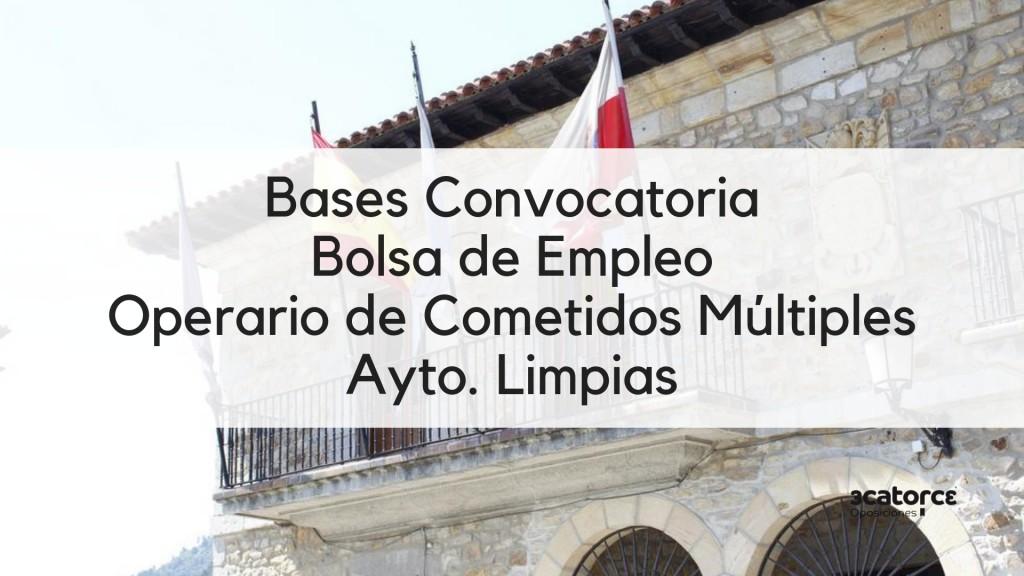 Bases-Convocatoria-bolsa-Operario-Comentidos-Multiples-Limpias-Cantabria-2019 Bases Convocatoria bolsa Operario Comentidos Multiples Limpias Cantabria 2019
