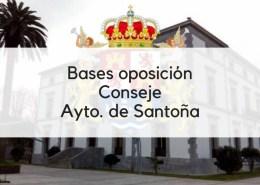 Bases-oposicion-Conserje-Santoña-2019 Oposiciones administrativo ayuntamientos Cantabria