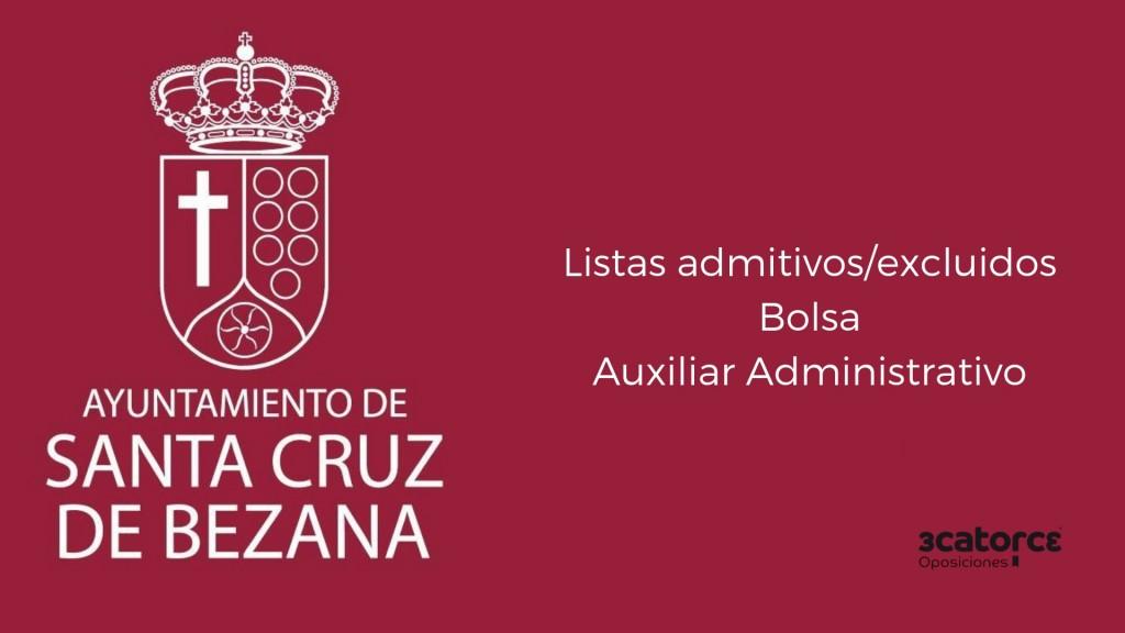 Lista-admitidos-bolsa-Auxiliar-Administrativo-Bezana-2019 Lista admitidos bolsa Auxiliar Administrativo Bezana 2019