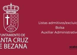 Lista-admitidos-bolsa-Auxiliar-Administrativo-Bezana-2019 Oposiciones administrativo ayuntamientos Cantabria