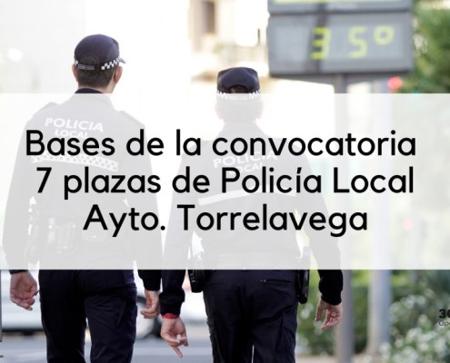 Bases 7 plazas Policia Local Torrelavega 2019