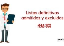 Lista-definitiva-admitivos-oposiciones-SCS-FEAs Listas definitivas admitidos oposiciones FEA SCS