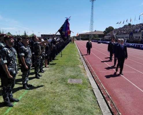 2593 alumnos juran como nuevos policias nacionales