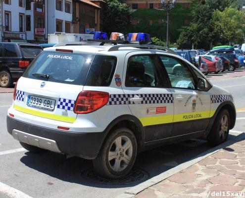 4 plazas policia local auxiliar Potes 2019