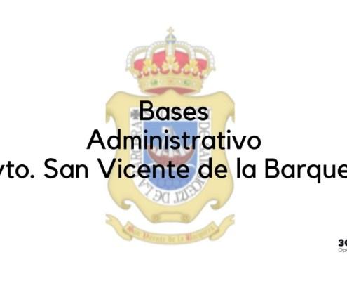 Bases oposicion administrativo 2019 San Vicente de la Barquera