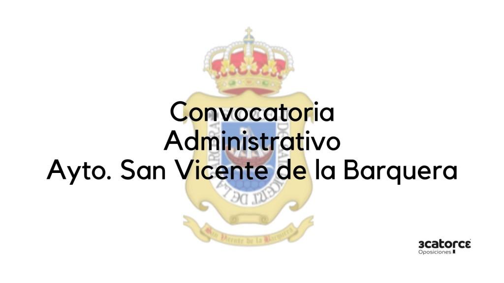 Convocatoria-Administrativo-San-Vicente-de-la-Barquera Convocatoria oposicion Administrativo San Vicente de la Barquera