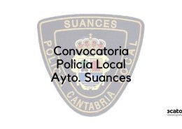 Convocatoria-Policia-Local-Suances-2019 Curso Intensivo oposiciones policia local Santander