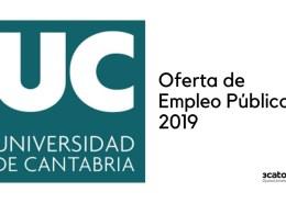 Oferta-Empleo-Publico-Universidad-Cantabria-2019 Bases oposicion Auxiliar Administrativo Ribamontan al Mar