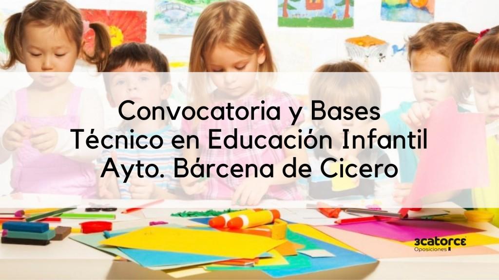 Oposicion-Tecnico-Educacion-Infantil-Barcena-de-Cicero-Cantabria Oposicion Tecnico Educacion Infantil Barcena de Cicero Cantabria