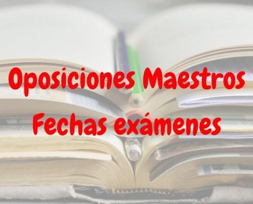 Sedes y horarios oposiciones maestros Cantabria 2019