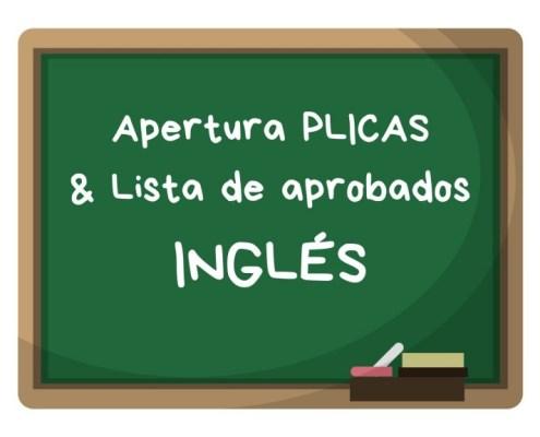 apertura PLICAS ingles Cantabria