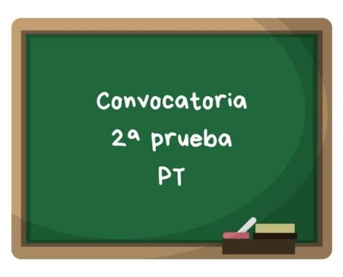 Convocatoria segunda prueba PT maestros Cantabria 2019