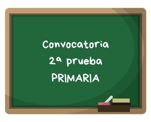 Convocatoria segunda prueba primaria maestros Cantabria 2019