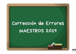 Correccion-errores-oposiciones-maestros-Cantabria-2019 Supuestos practicos audicion y lenguaje AL